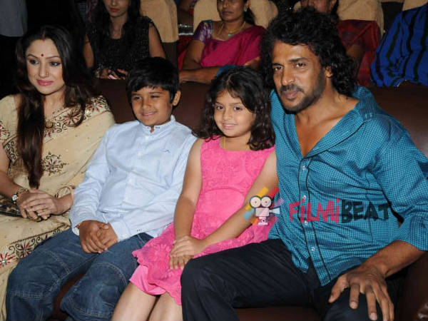 Real Star Upendra and his family