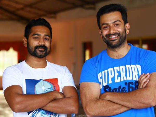 Prithviraj Inaugurated Asif Ali's Cafe