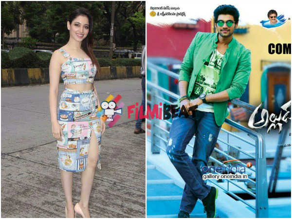 Bellamkonda Srinivas To Romance Tamanna In His Next