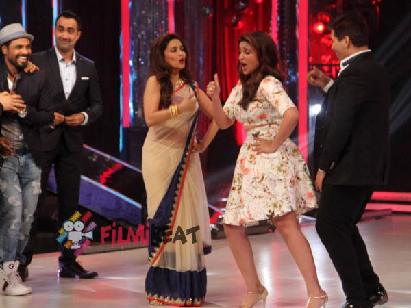 Parineeti With Karan And Madhuri