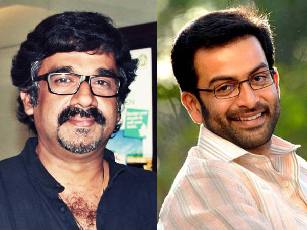 Prithviraj To Play K Madhavan In Ranjith's Next Movie