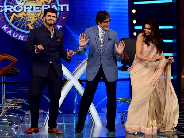 Deepika, Arjun With Amitabh