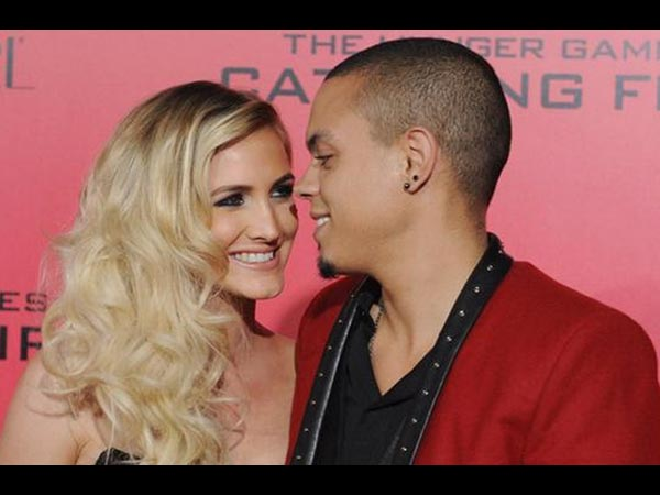 Ashlee Simpson Married Evan Ross At Diana Ross' Estate