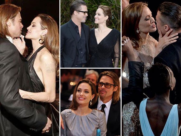 Newly Wed Brad Pitt And Angelina Jolie In Pics