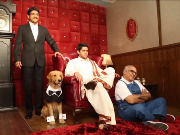 Manam Completes 100 Days; Nagarjuna Misses Dad