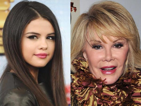 Joan Rivers vs Selena Gomez