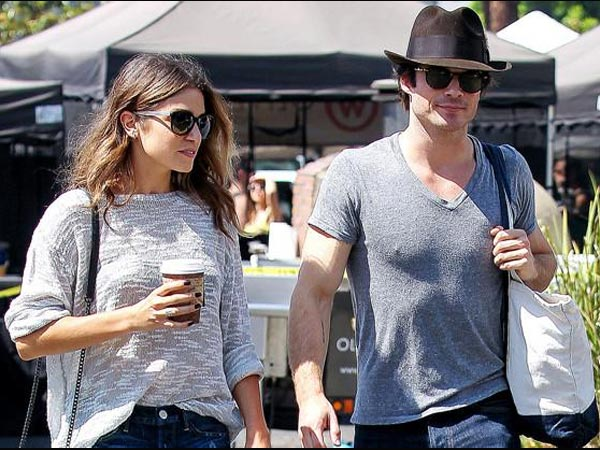 Ian Somerhalder And Nikki Reed Get Kinky! Shops Erotic Toys