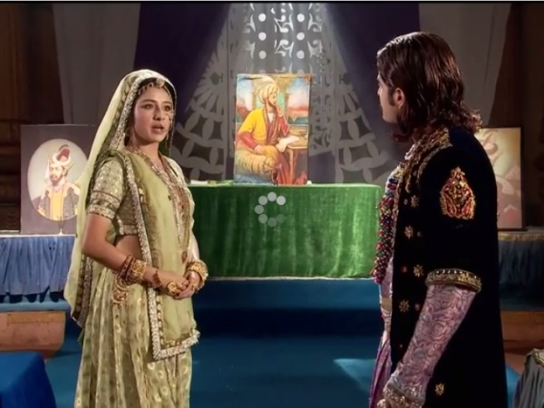 Jodha Akbar: Jodha Stops Akbar From Leaving His Throne