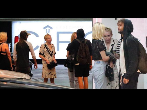 Miley Cyrus Moves Over Liam, Flirts With Douglas Booth