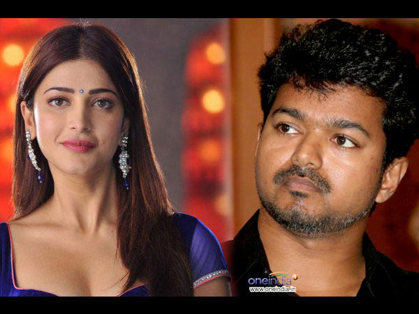 Shruti Hassan Walks Out Of Vijay's Movie!