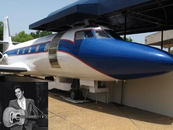 2 Private Planes Of Rock Star Elvis Presley Go On Sale