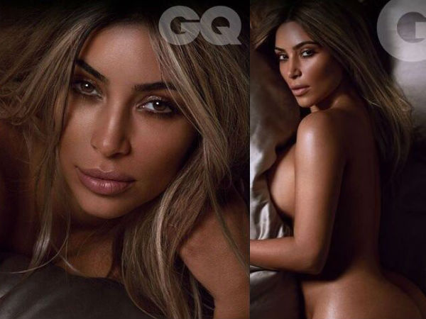 Kim Kardashian Voted Woman Of The Year, Goes Nude On GQ