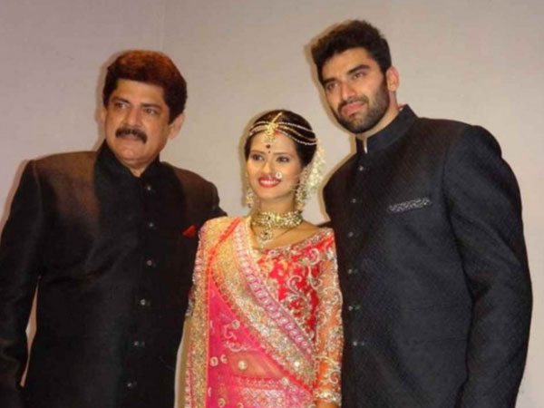 Pankaj Dheer With Nikitin And Kratika