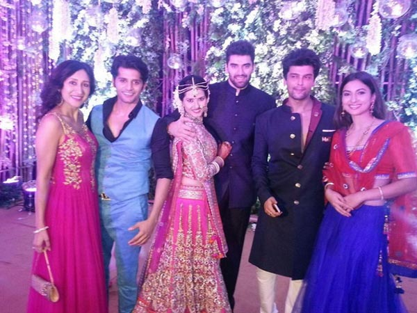 Nikitin And Kratika With Celeb Friends