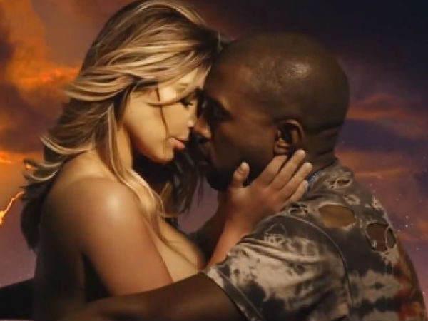 Kanye West og Kim Kardashian sex video