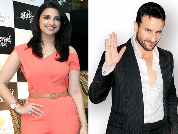 Parineeti Chopra and Saif Ali Khan