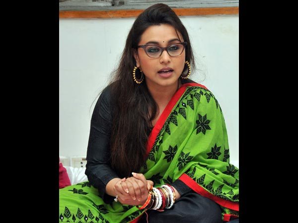 Rani Mukerji At The NGO