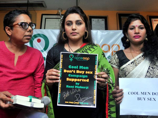 Rani Supporting Their Campaign