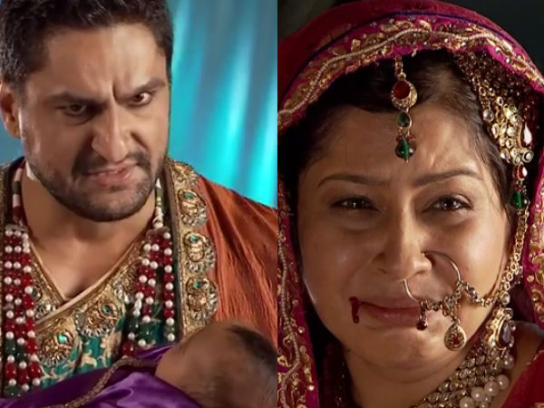 Jodha Akbar: Sharifuddin Beats Up Bakshi Banu