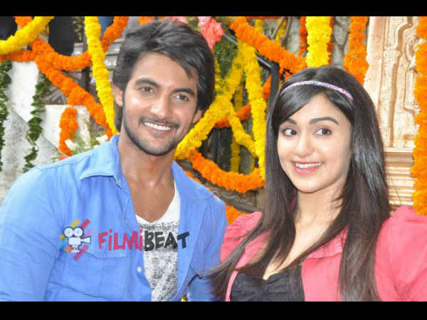 Aadi, Adah Sharma At Garam Launch
