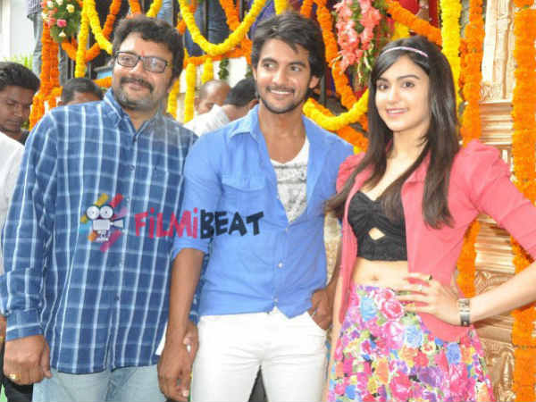 Aadi, Adah Pose With Saikumar