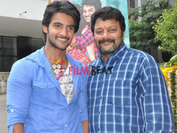 Aadi With Saikumar At Garam Launch