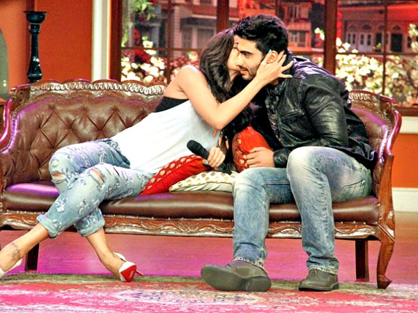 Arjun Kapoor Gets Lucky With Deepika Padukone On Comedy Nights With Kapil