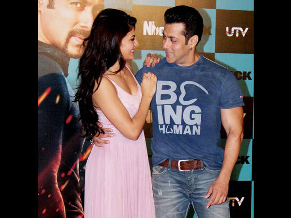 Sallu Bhai With His Supposed GF