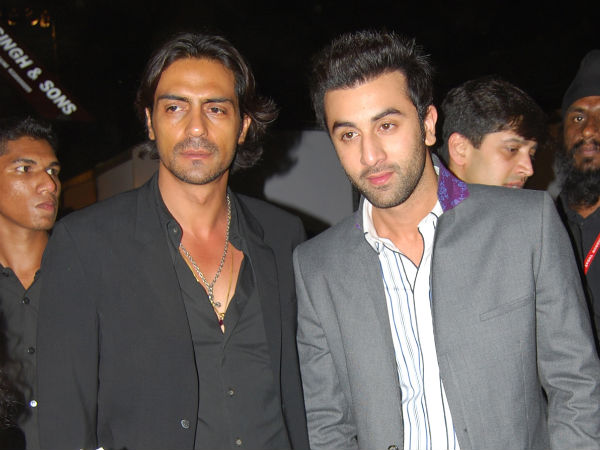 Arjun Rampal and Ranbir Kapoor