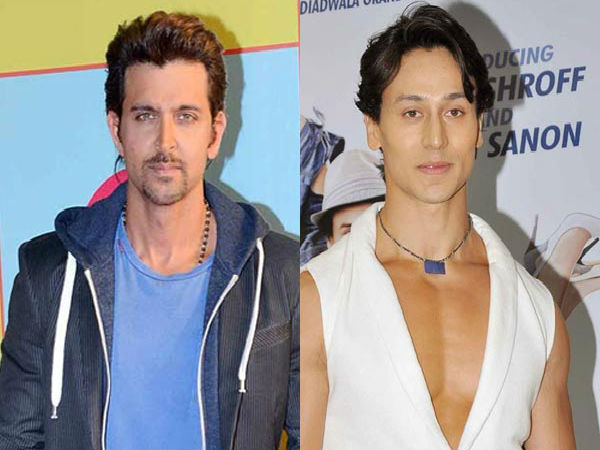 Hrithik Roshan and Tiger Shroff