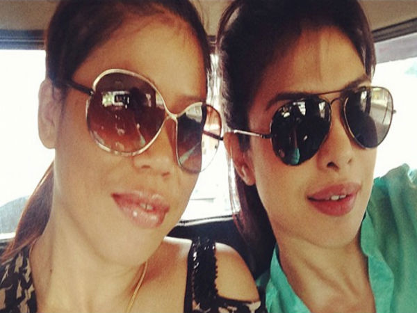 Priyanka Chopra and Mary Kom