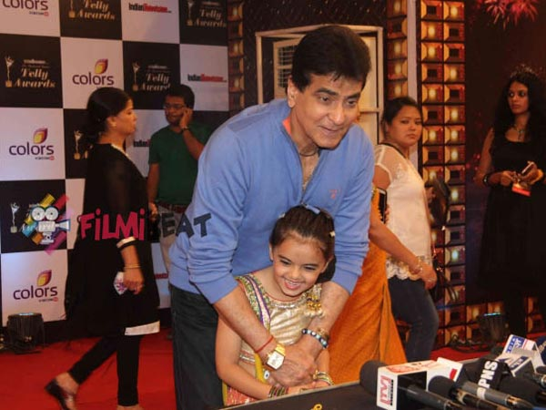 Jeetendra With Ruhaanika