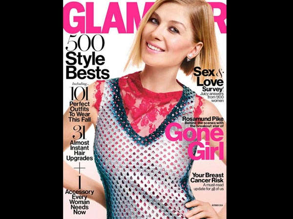 Gillian Flynn Interviews 'Gone Girl' Actress Rosamund Pike