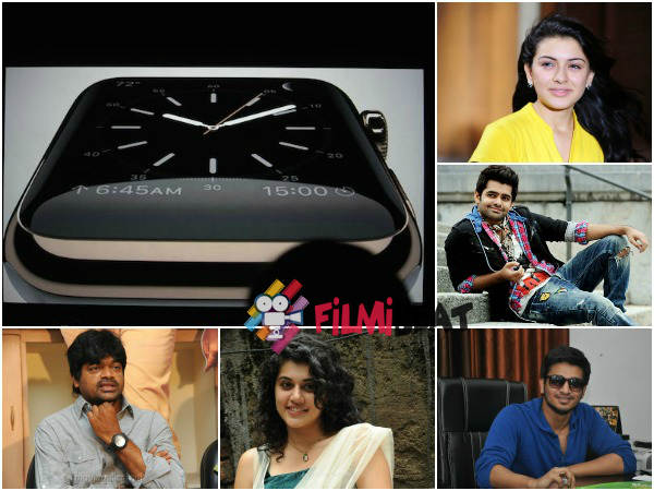 What Ram, Taapsee, Hansika Say About Apple Watch?