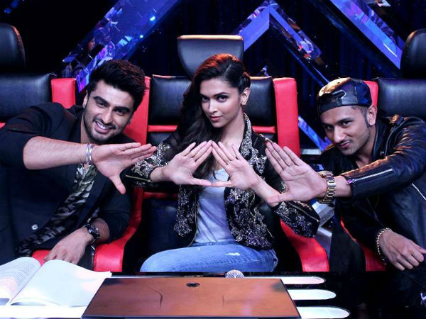 Deepika And Arjun On Yo Yo's Show