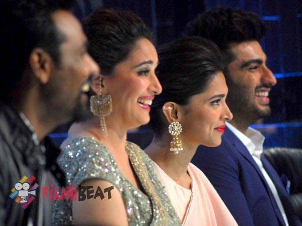 Arjun And Deepika With Madhuri