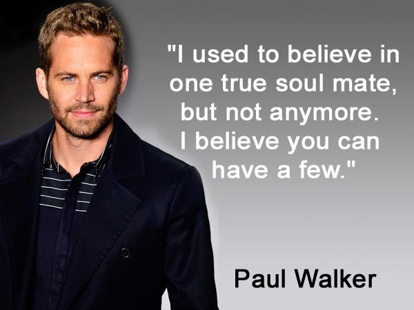 Furious 7 Paul Walker Quotes Quotesgram: Best Quotes Of Paul Walker: Birthday Special