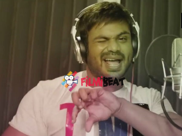 Devadas Song Is Dedicated To Girls: Manoj