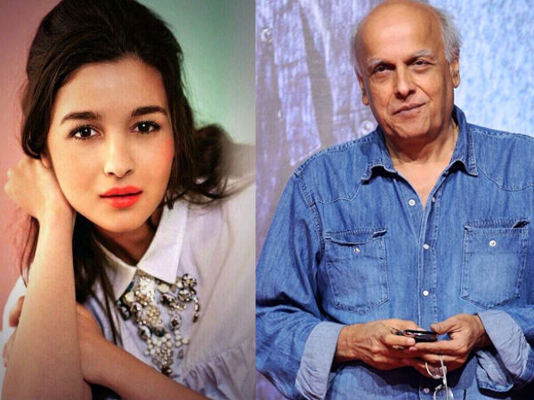 Mahesh Bhatt: I Don't Want To Work With Alia Bhatt