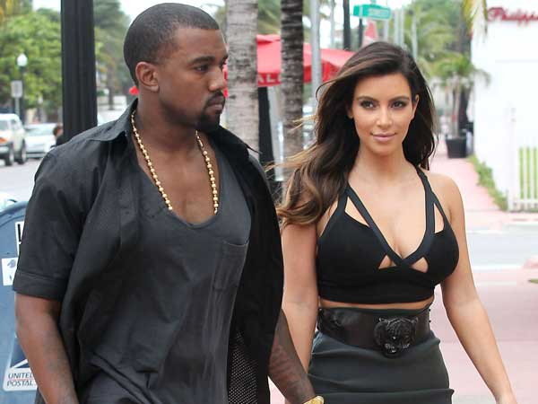 Kim, Kanye Spice Up Marriage, Go Bare To Yoga Classes!!!