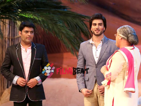 Kapil With Dadi And Imran