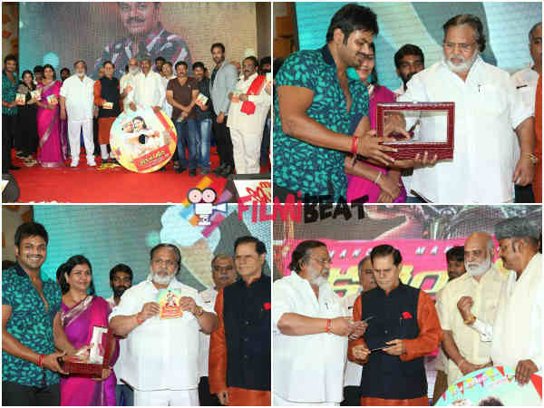 Dasari Narayana Rao Gives Current Theega CDs To Guests
