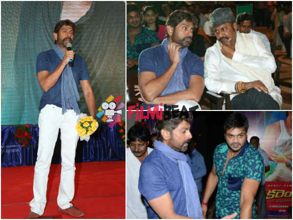 Jagapthi Babu At Current Theega Music Launch