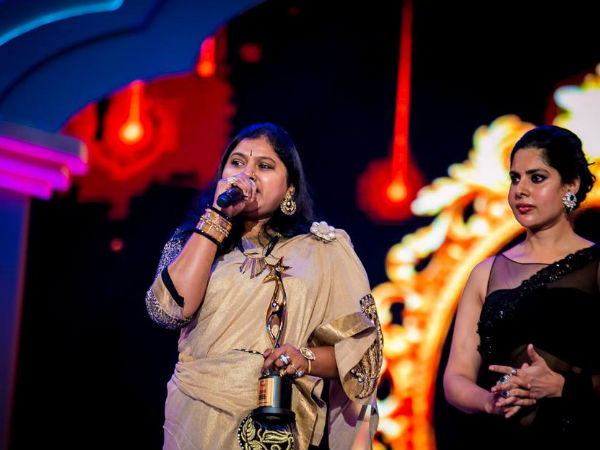 Best Female Playback Singer Award