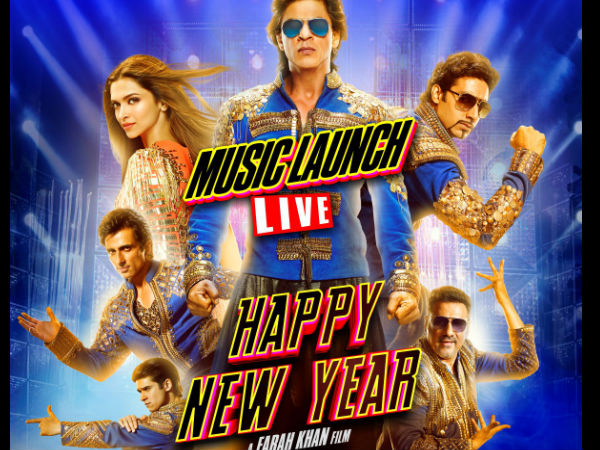 Exclusive: Live Streaming Of Shahrukh's Happy New Year Music Launch