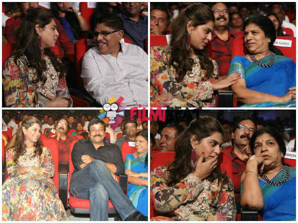 Cherry's Wife Upasana At GAV Audio Launch