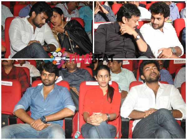 Varun Tej At GAV Audio Launch