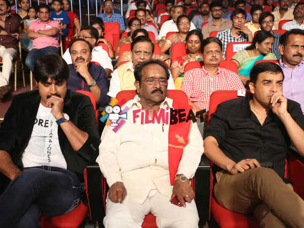 Srikanth, Dil Raju, Paruchuri At GAV Music Release