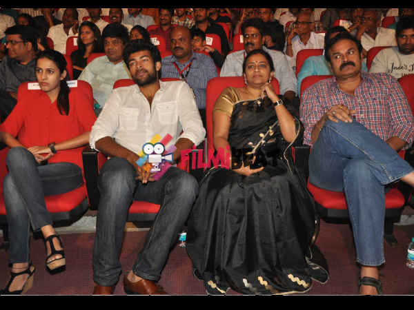 Nagababu Family At GAV Music Release
