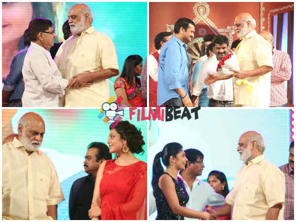 Raghavendra Rao At GAV Music Release